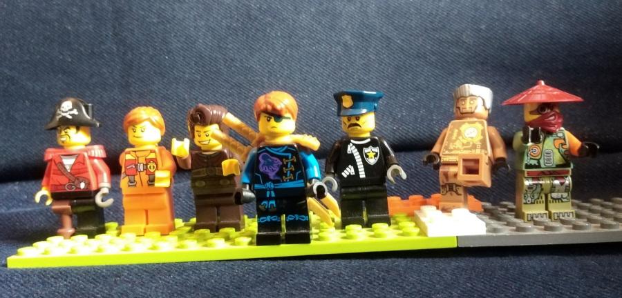 ninja replacement team